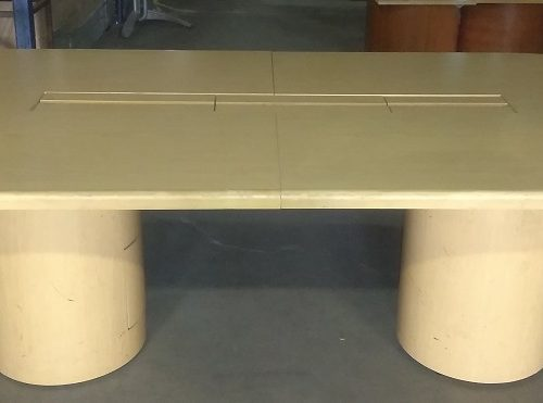 2-PIECE RACETRACK CONFERENCE TABLE