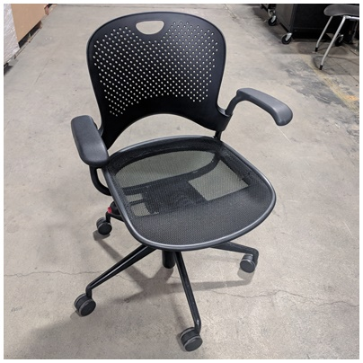 HERMAN MILLER MID BACK CONFERENCE CHAIR