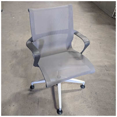 HERMAN MILLER CONFERENCE CHAIR W/ARM REST