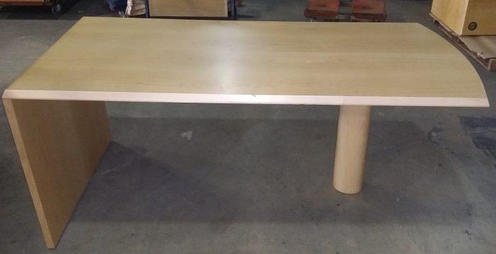 TABLE DESK PANEL END W/ COLUMN LEG