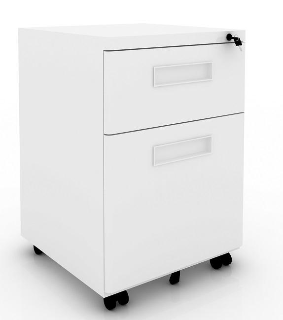 ERGO 15W ERGOFLEX MOBILE BOX FILE PEDESTAL (NEW)