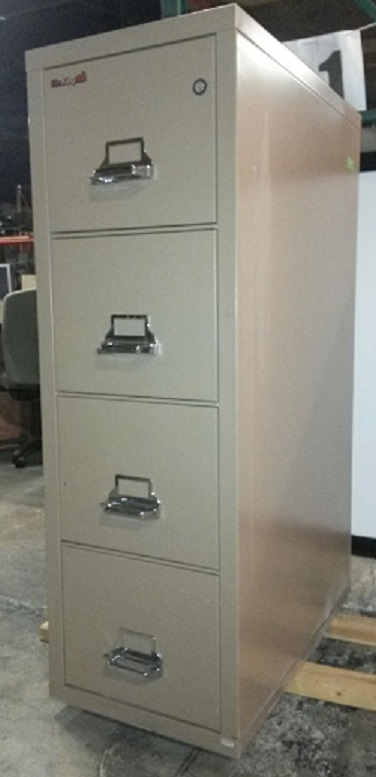 FIREKING 4-DRAWER FIRE FILE