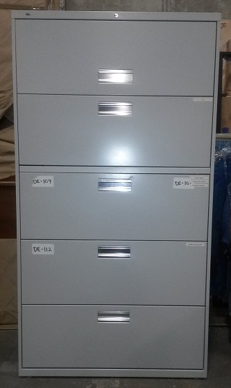 HON 5-DRAWER LATERAL FILE