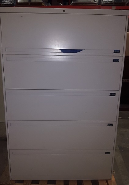 ALLSTEEL 5-DRAWER LATERAL FILE