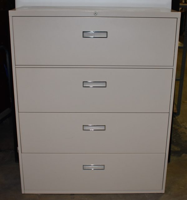 STEELCASE 4-DRAWER LATERAL FILE