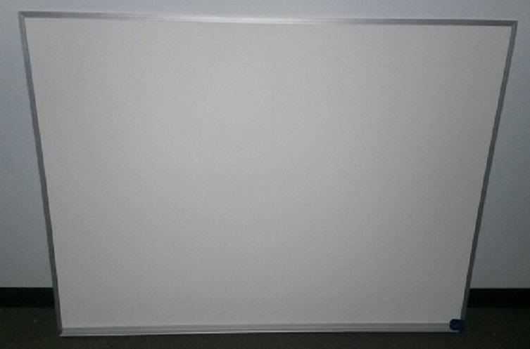 MELAMINE WHITEBOARD W/SILVER FRAME