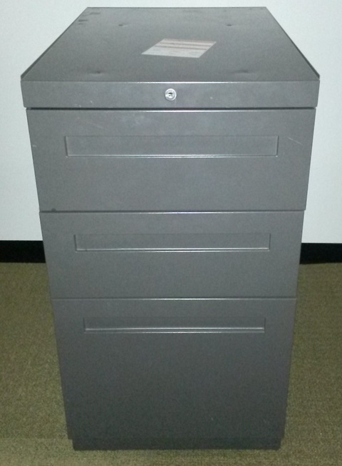ALLSTEEL BOX BOX FILE PEDESTAL
