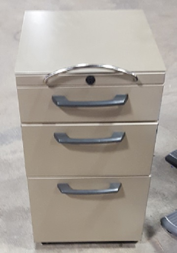 KNOLL BOX BOX FILE MOBILE PEDESTAL