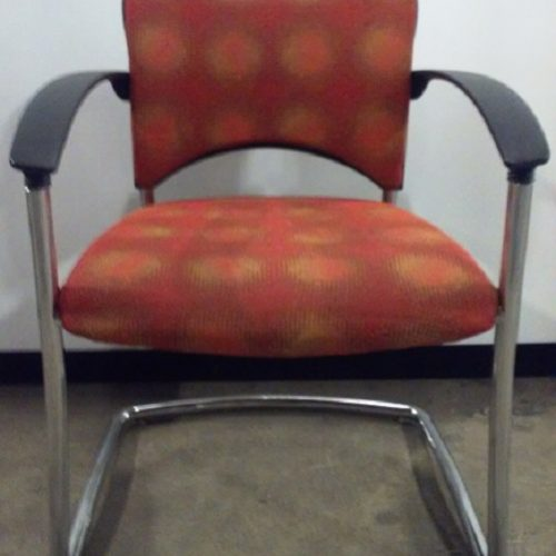 TEKNION AMICUS SERIES SIDE ARM CHAIR