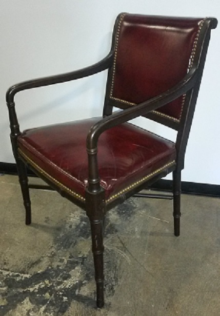 HBF WOOD SIDE ARM CHAIR