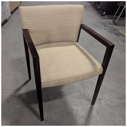 HBF SIDE CHAIR W/ARM REST