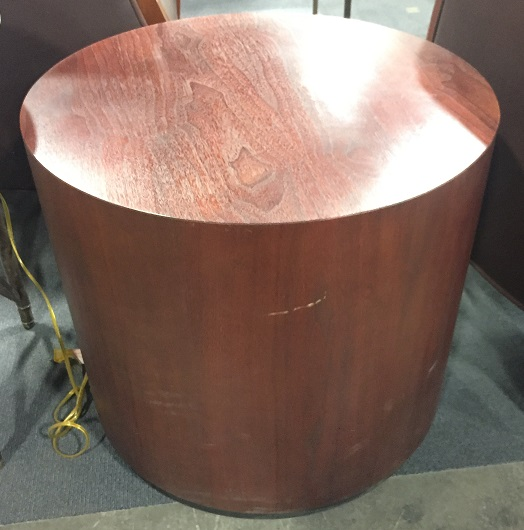 SOLID ROUND SIDE TABLE