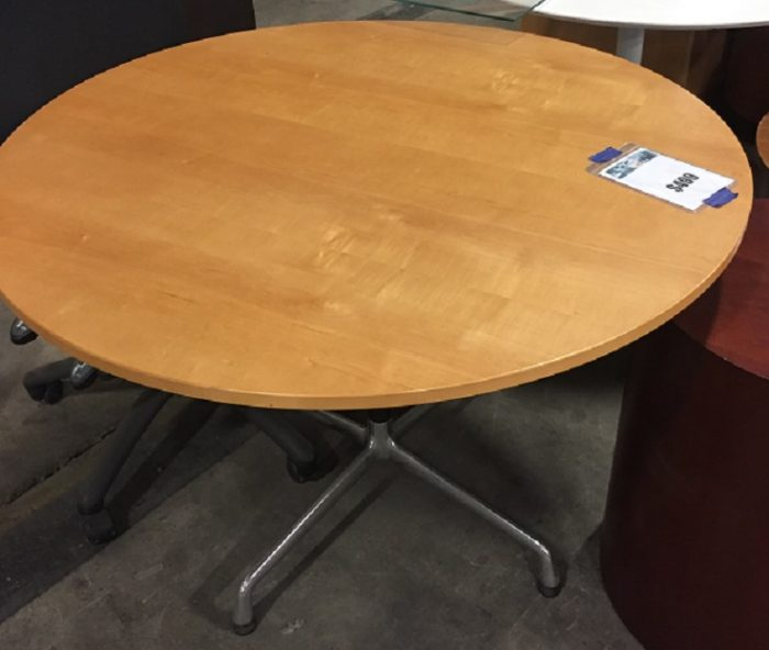 HERMAN MILLER EAMES ROUND DINING TABLE