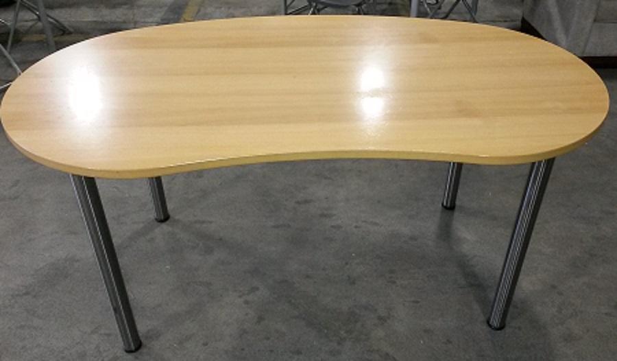 IKEA KIDNEY SHAPE TABLE