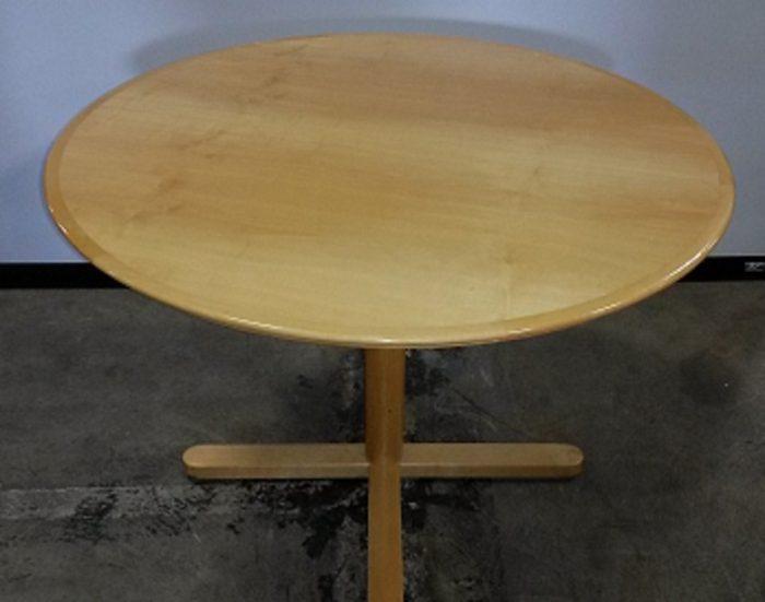 CREATIVE WOOD VENEER ROUND TABLE