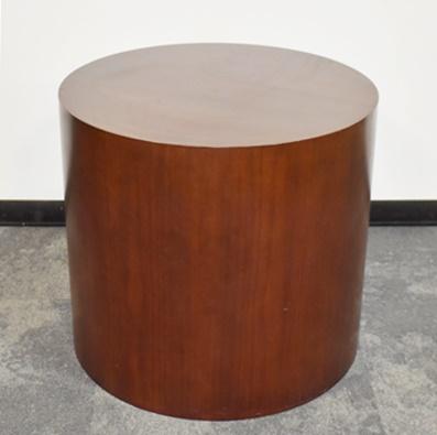 KIMBALL DRUM SIDE TABLE