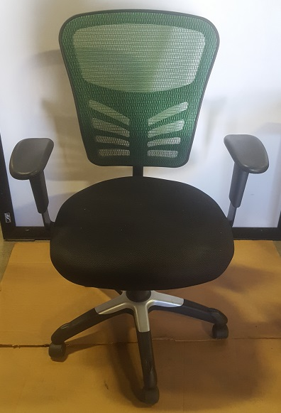 OFFICE MASTER MESH BACK TASK CHAIR W/ ARMS