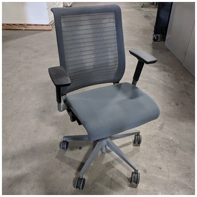 STEELCASE THINK TASK CHAIR W/ARMS REST