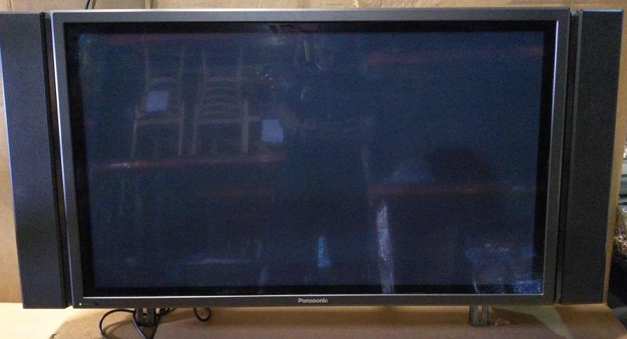 "42"" Plasma HDTV Monitor, 36""w, Serial #MD73410500"