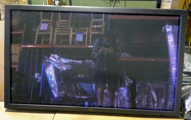 "61"" Plasma Flatscreen TV, 54""w, Serial #0272282"