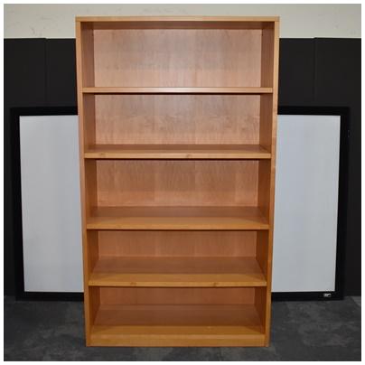 CHERRY 5-SHELF BOOKCASE