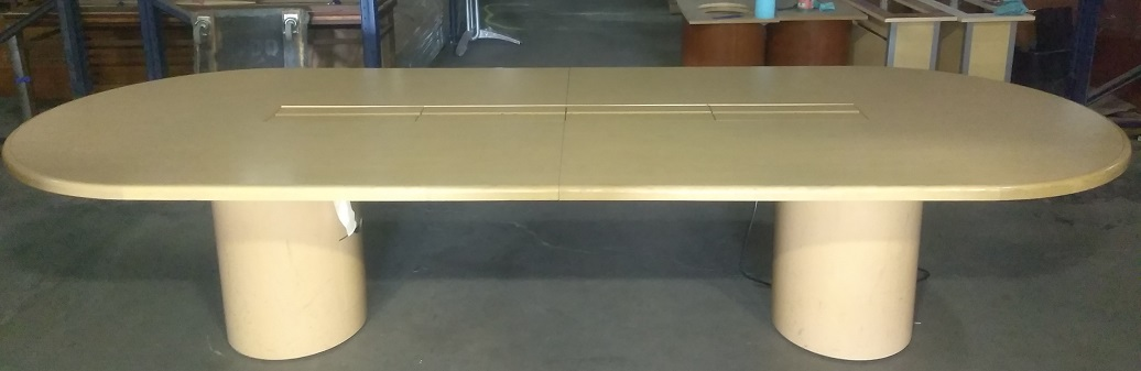 MAPLE RACETRACK CONFERENCE TABLE