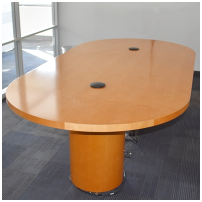 OVAL RACETRACK CONFERENCE TABLE