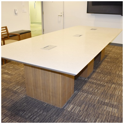 GRANITE TOP CONFERENCE TABLE