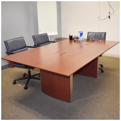 BERNHARDT CONFERENCE TABLE