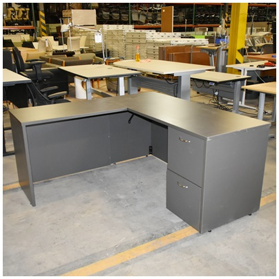 HIGH POINT L-DESK
