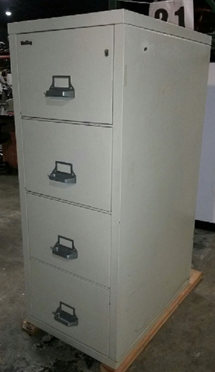 FIREKING HUDSON 4-DRAWER FIRE FILE