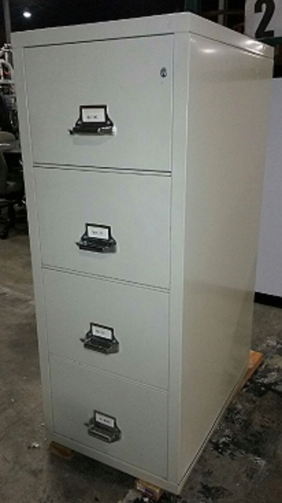4-DRAWER FIRE FILE