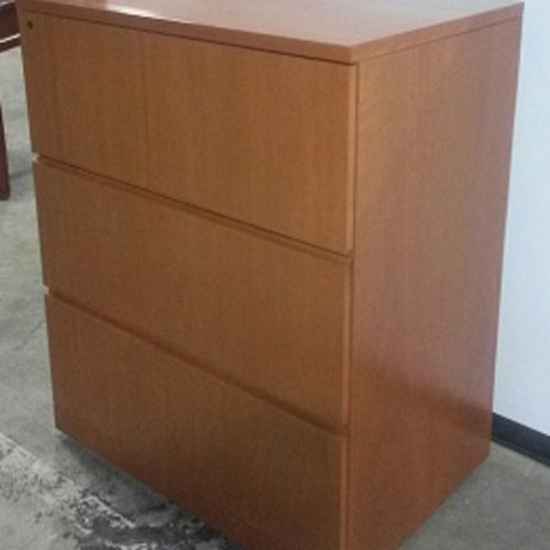 CREATIVE WOOD 3-DRAWER LATERAL FILE
