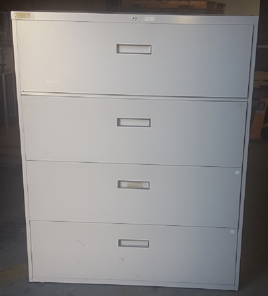 4-DRAWER LATERAL FILE 42W x 18D