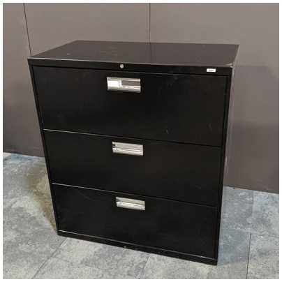 HON 3-DRAWER LATERAL FILE
