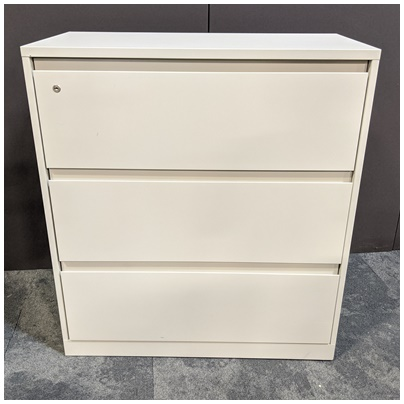 STEELCASE 3-DRAWER LATERAL FILE