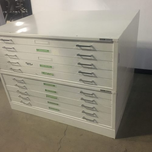 MAYLINE C-FILE PLAN FILE 10-DRAWERS