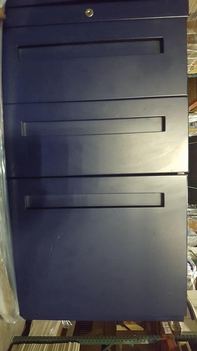 ALLSTEEL BOX BOX FILE MOBILE PEDESTAL