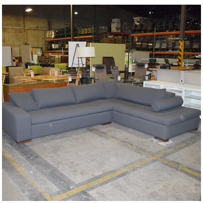 LAZAR INDUSTRIES VALENTINO CHAISE SECTIONAL SOFA