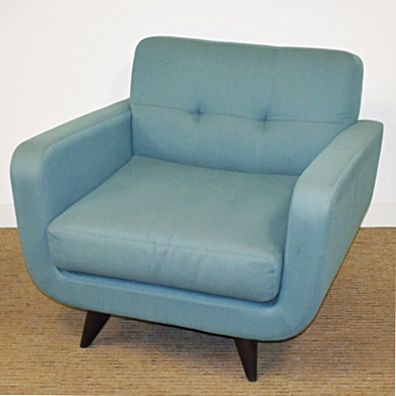 AMERICAN LEATHER/ROOM&BOARD ANSON LOUNGE CHAIR
