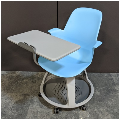 STEELCASE NODE, MOBILE TABLET CHAIR