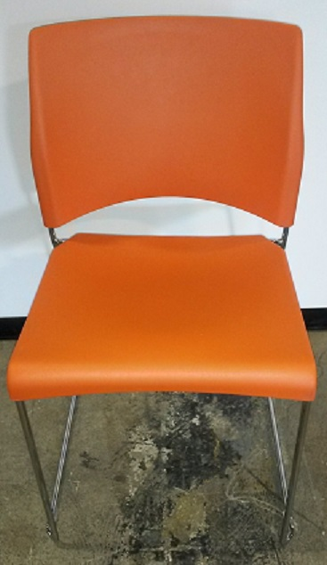 ALLSTEEL NIMBLE STACKING CHAIR