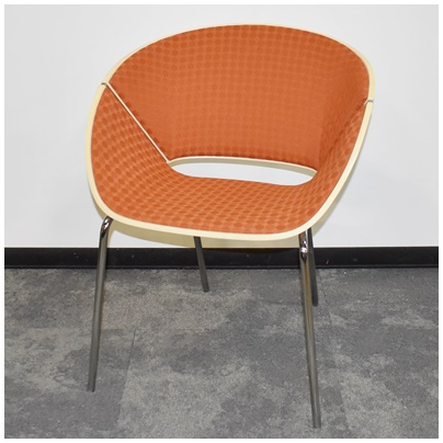 MOLDED WOOD STACKABLE SIDE CHAIR