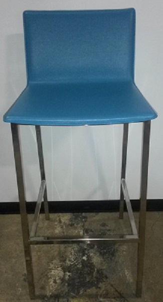 LEATHER DINING STOOL