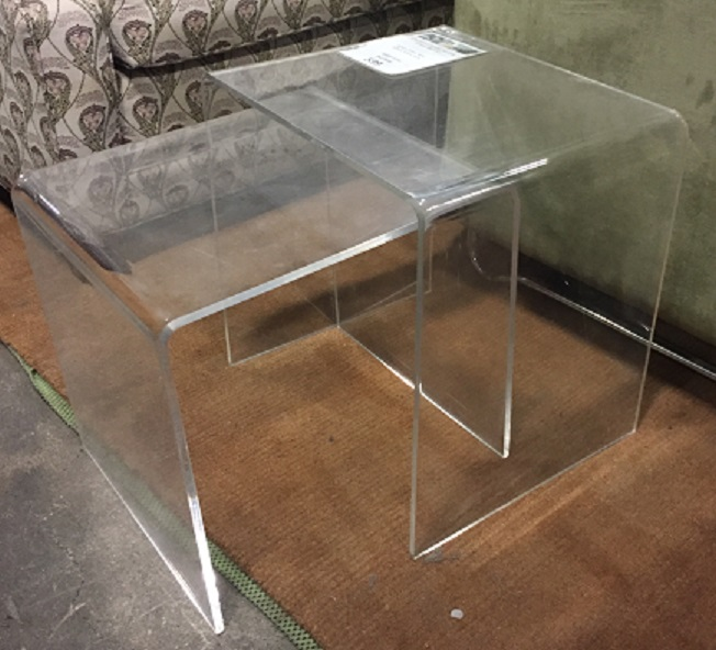 CHAMONIX ACRYLIC END TABLES