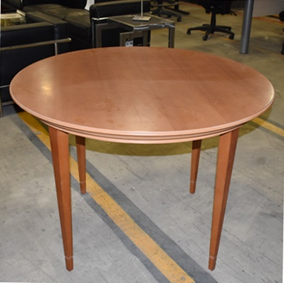 BERNHARDT ROUND CONFERENCE TABLE
