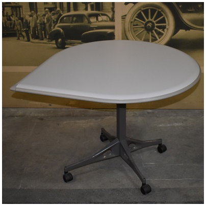 HERMAN MILLER MOBILE TEARDROP TABLE