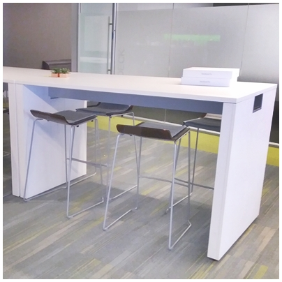 ALLSTEEL COUNTER-HEIGHT WORK TABLE