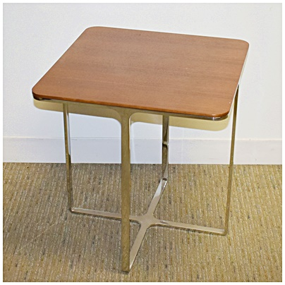 BERNHARDT END TABLE