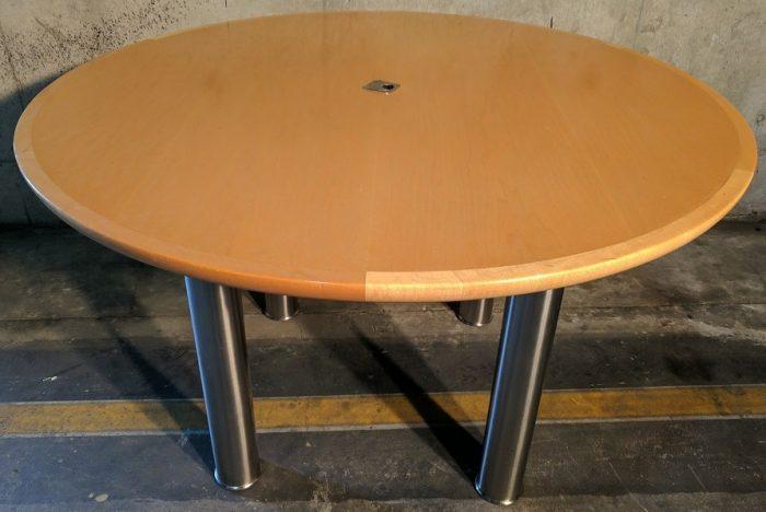 GEIGER VENEER ROUND TABLE